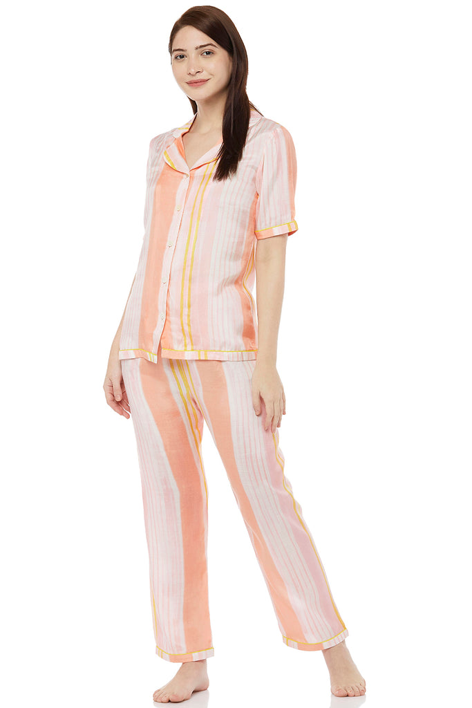 Hand Brush Painted Pyjama Set