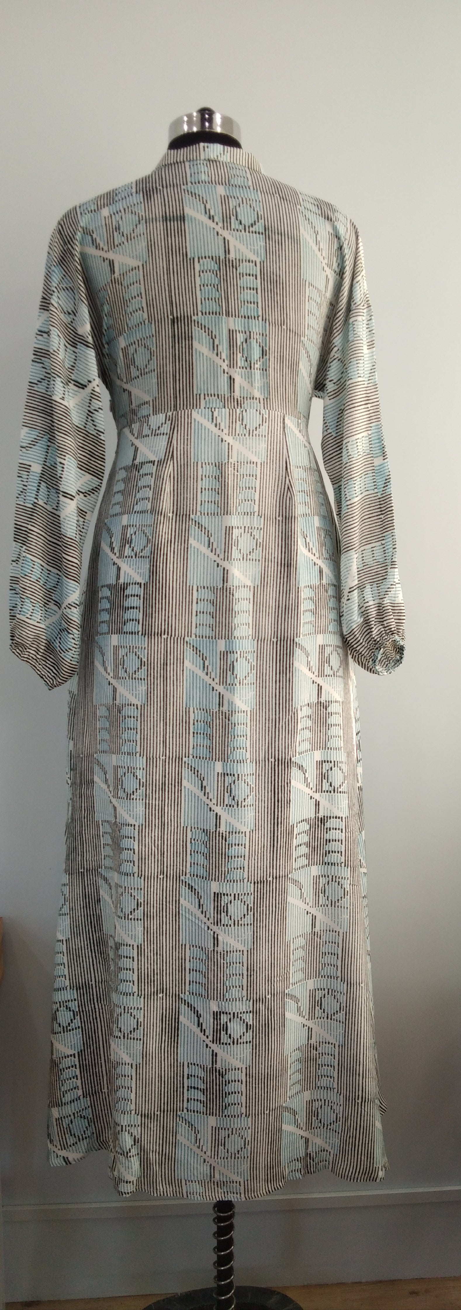 Blockprinted Long Dress