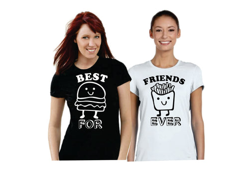 Best Friends Forever Burger & Fries