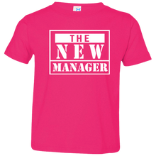 The  New Manager Toddler Jersey T-Shirt