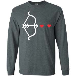 Arrow to your Heart Men Long Sleeve T-shirt