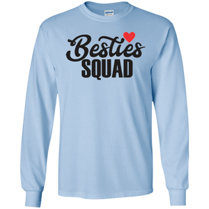 Besties squad LS Ultra Cotton T-Shirt