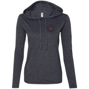 Arrow Ladies' LS T-Shirt Hoodie