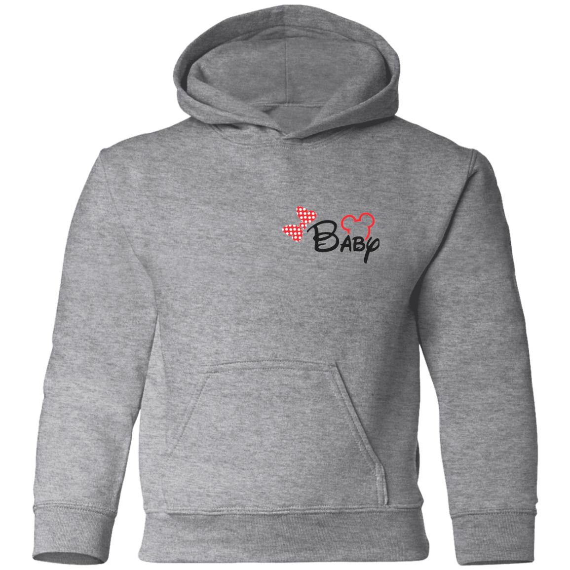Baby Girl  Mickey Toddler Pullover Hoodie