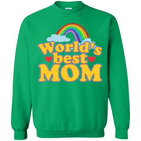 World BEST Mom Sweatshirt