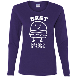 Best Friend FOREVER Burger Long Sleeve T-shirt