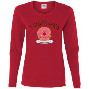 Together Donut Long Sleeve T-shirt