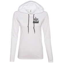 Where You Lead Ladies' T-Shirt Hoodie