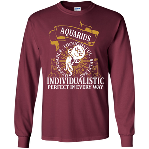 Aquarius Design 1 Long Sleeve T-shirt