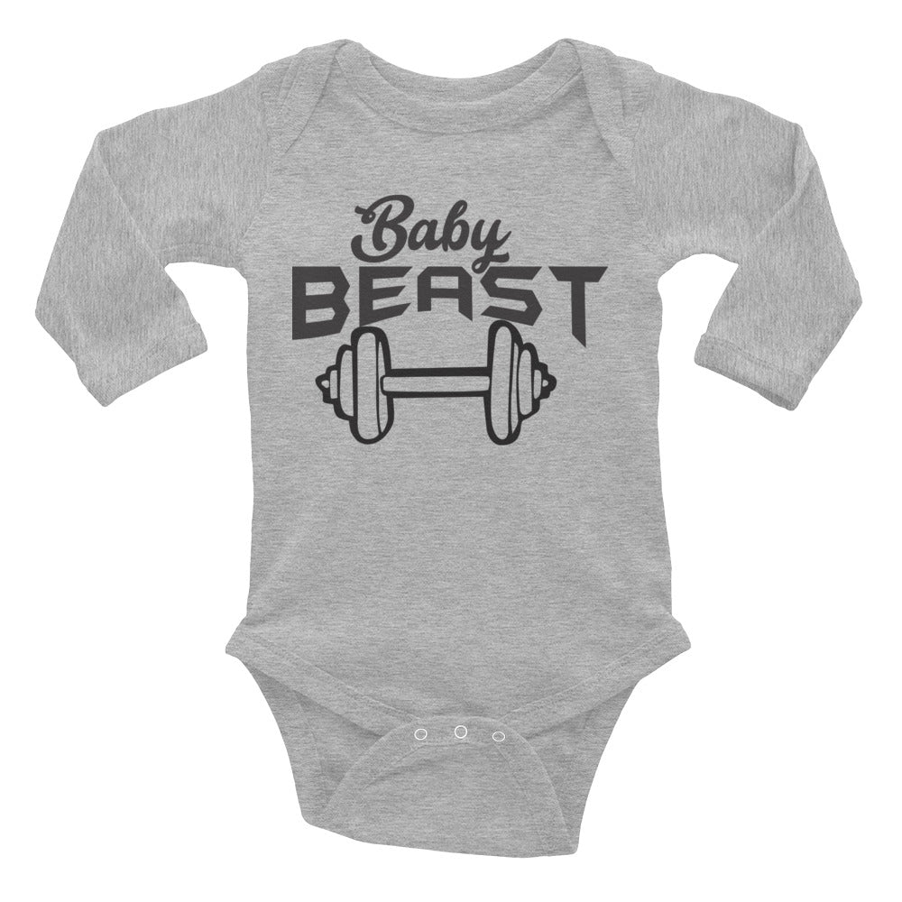 Baby Beast Long Sleeve Bodysuit
