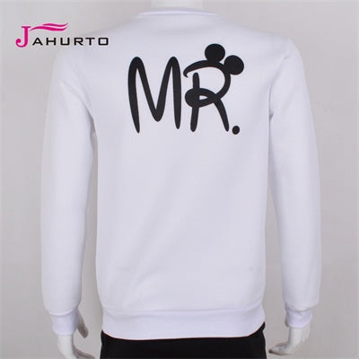 MR. & MRS. Letter Sweatshirts