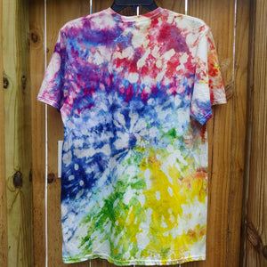 BUBBLE RAINBOW T-SHIRT - UNISEX M