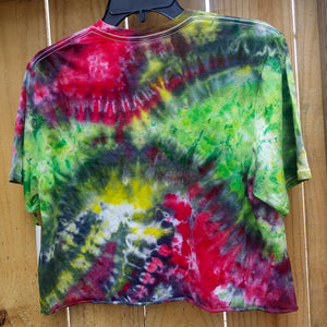 RASTA CROP T-SHIRT