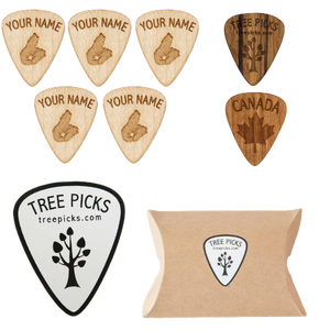 Cape Breton Personalized Guitar Picks Christmas Special