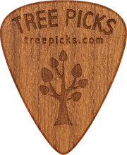 Guitar Pick - Cherry Wood - Tree Picks