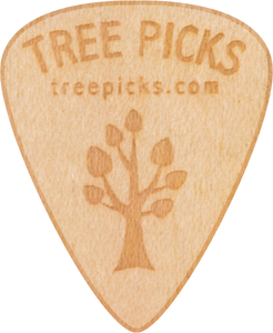 Guitar Pick - Maple Wood - Tree Picks