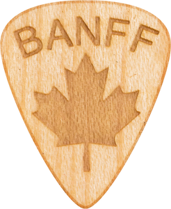 Guitar Pick - Banff - Alberta - Maple Wood - Tree Picks