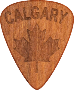 Guitar Pick - Calgary- Cherry Wood - Tree Picks
