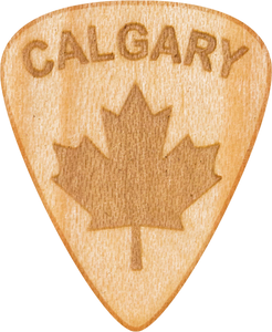 Guitar Pick - Calgary - Maple Wood - Tree Picks