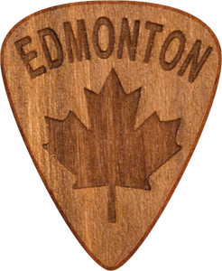 Guitar Pick - Edmonton - Alberta - Cherry Wood - Tree Picks