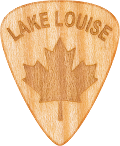 Guitar Pick - Lake Louise - Canada - Maple Wood - Tree Picks