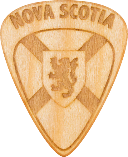 Guitar Pick - Nova Scotia - Maple Wood - Tree Picks - Halifax