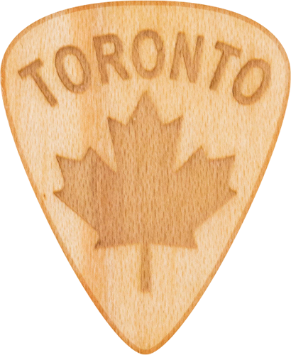 Guitar Pick - Toronto - Maple Wood - Tree Picks