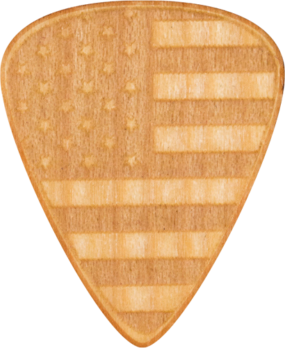 Guitar Picks - Maple Wood - USA - America - United States - Tree Picks