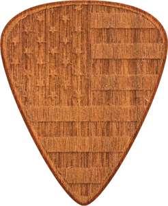Guitar Picks - Cherry Wood - USA - America - United States - Tree Picks