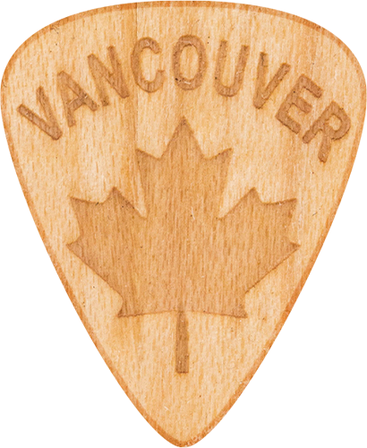 Guitar Picks - Maple Wood - Vancouver - Tree Picks