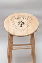 Tree Picks - Wooden Stool - Guitar Store - Studio