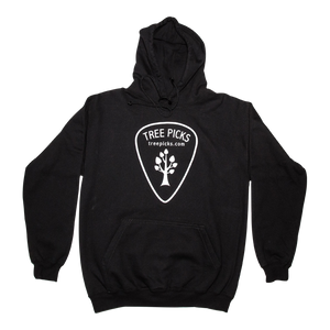 Tree Picks - Hoodie - Black