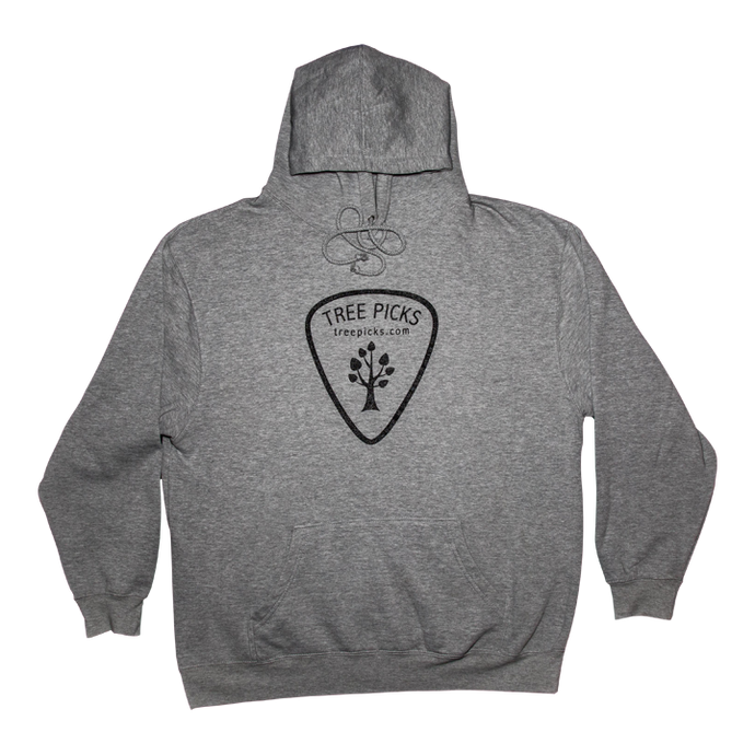 Tree Picks - Hoodie - Grey