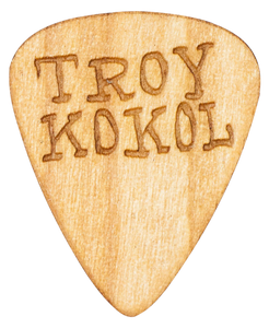 Troy Kokol - Guitar Picks - Wood - Songwriter