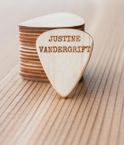 JUSTINE VANDERGRIFT Custom Guitar Picks