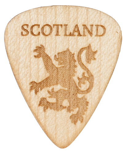 Scotland Guitar Picks (5 picks)