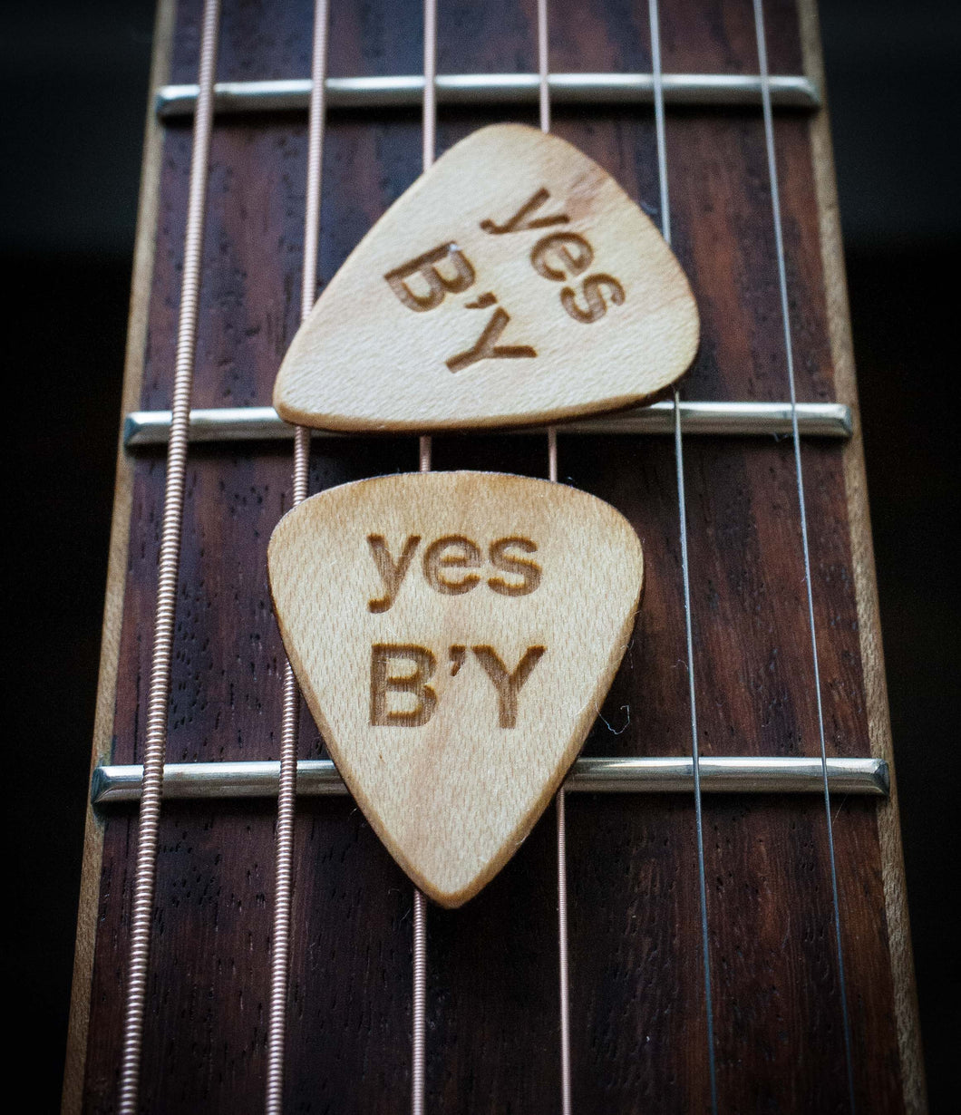 YES B'Y Guitar Picks (5 picks)