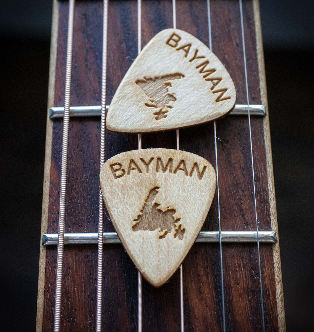 Bayman Guitar Picks (5 picks)
