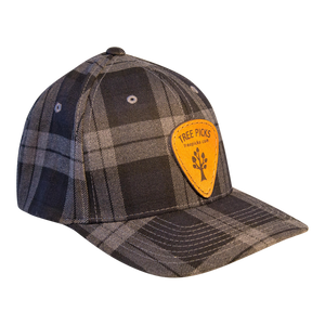 Tree Picks - Hat - Ball Cap - Checkered - Plaid
