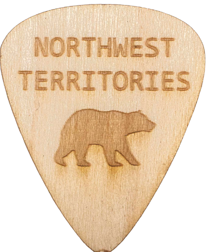 northwest territories guitar picks wood