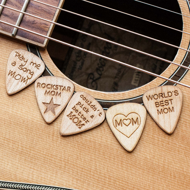 Mother's Day Guitar Picks