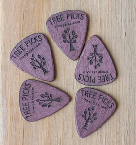 Tree Picks Purple Heart (5 picks)