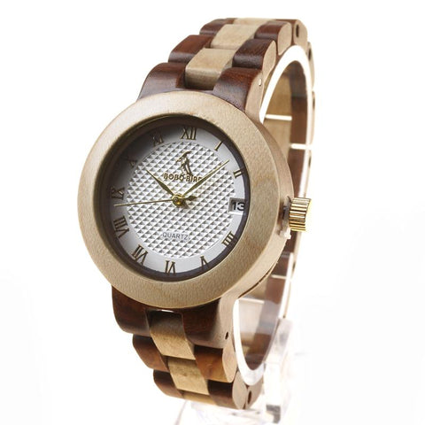 Newest Designer Wooden Eco Watch for Women