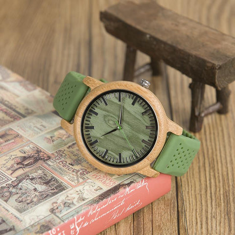 Green Style Strap Bamboo Eco Watch