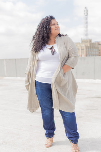 Lina oversized cardigan | one size