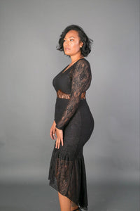 Beverly Lace | Curvy Babes - one piece