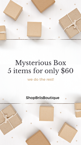 Mystery Box | 5 items $60