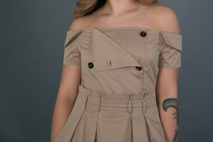 Trench Dress | belt included
