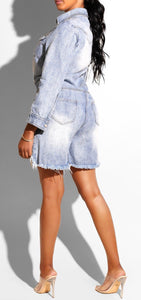 Body shop | denim romper