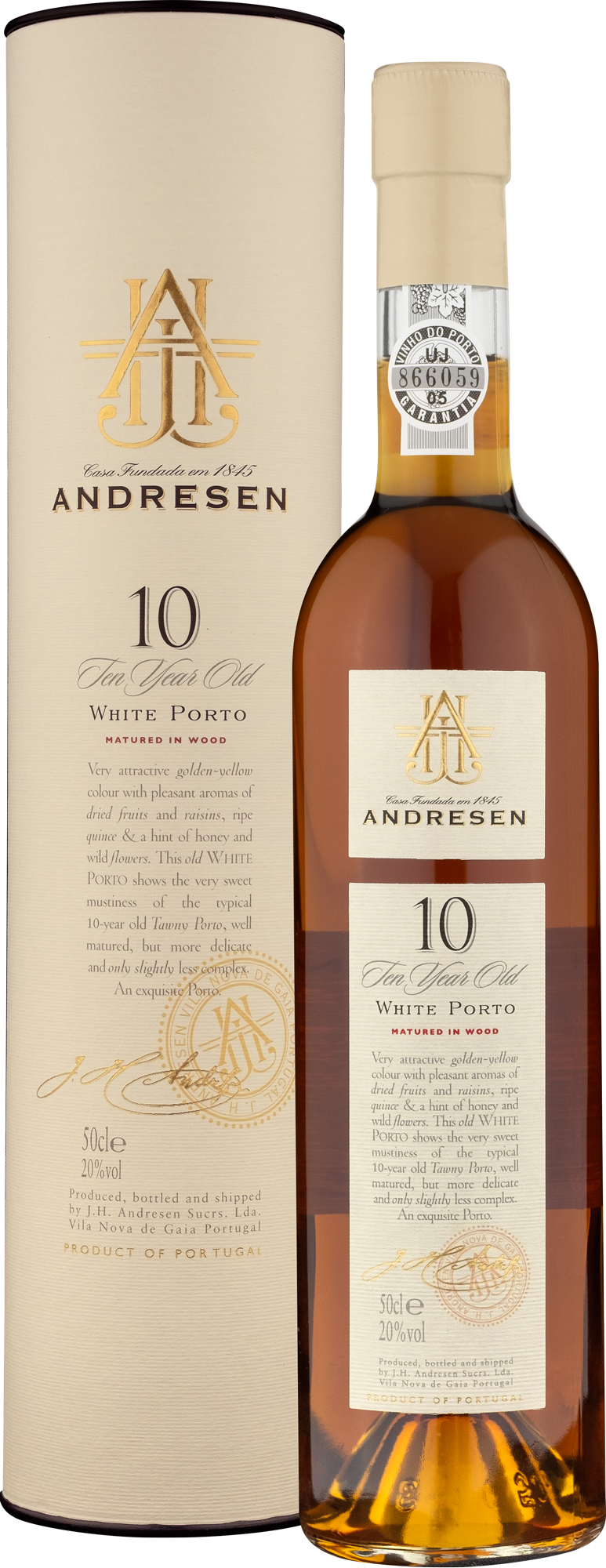 Andresen 10 Years Old White